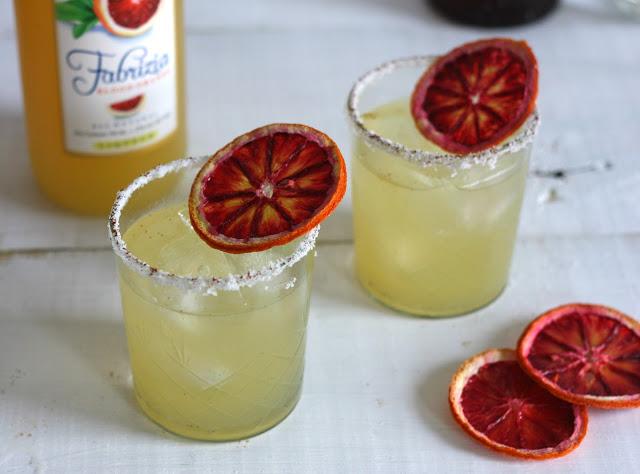Spicy Blood Orange Margarita 4