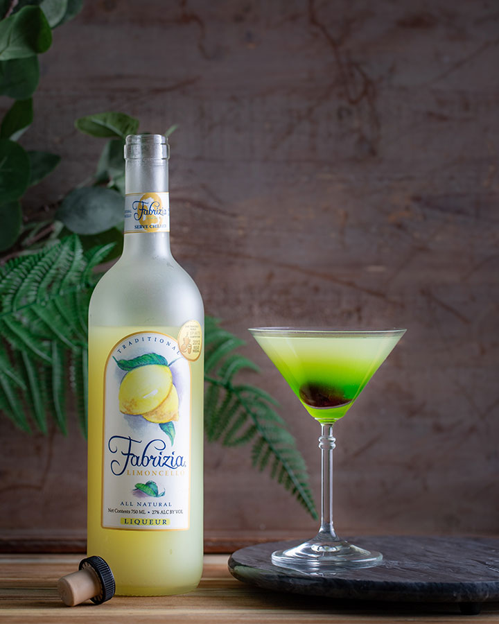 St Paddy's Martini