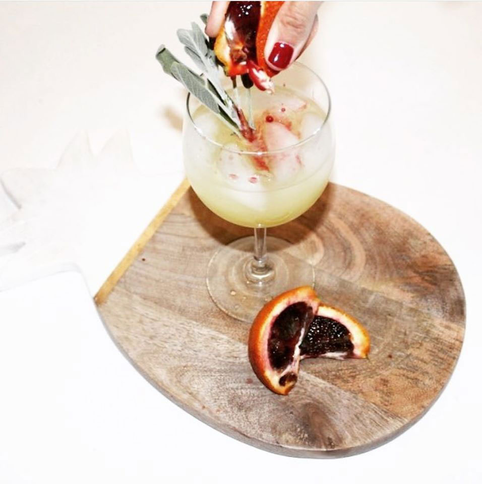 Blood and Fire Cocktail