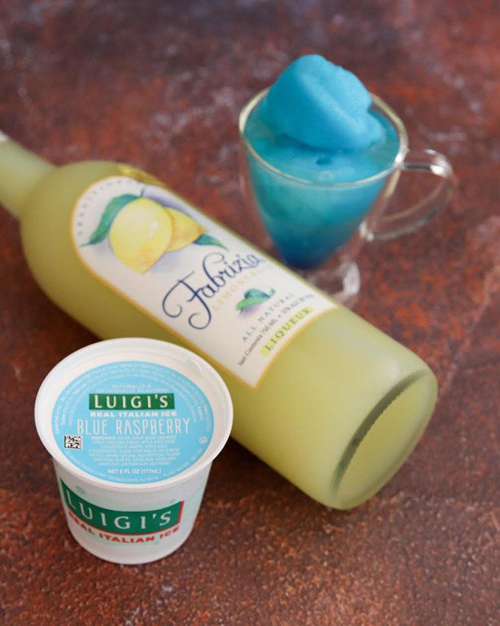 Fabrizia And Luigi's Blue Lemonade