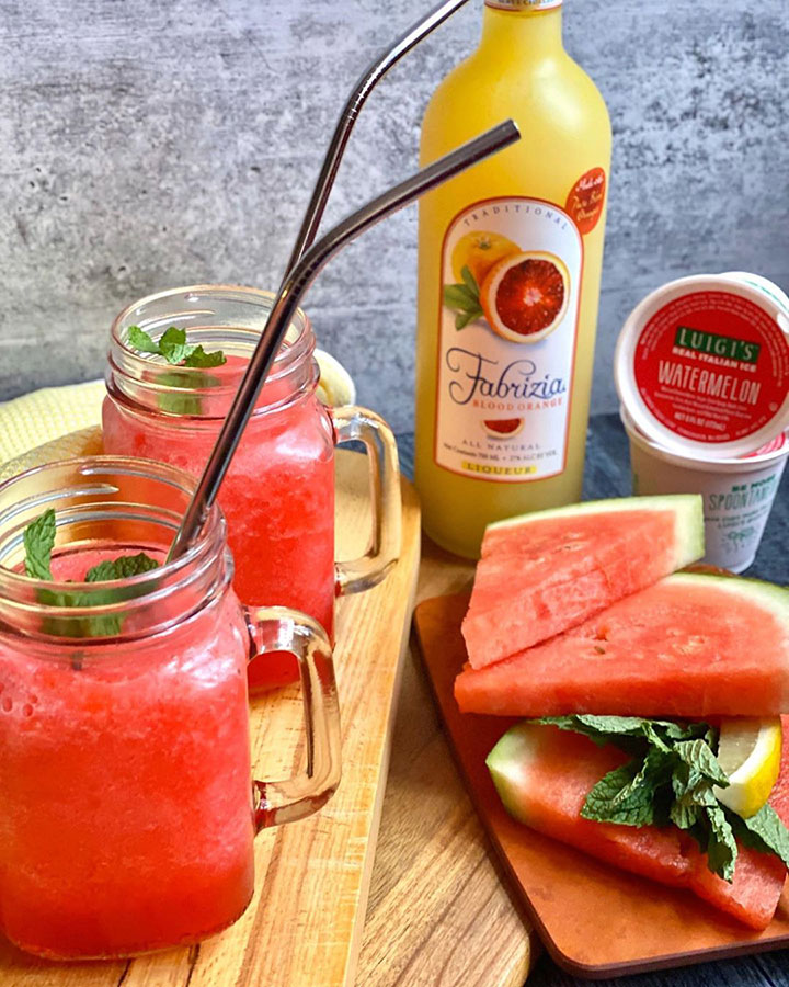 WATERMELON BLOOD ORANGE LIMONCELLO SGROPPINO