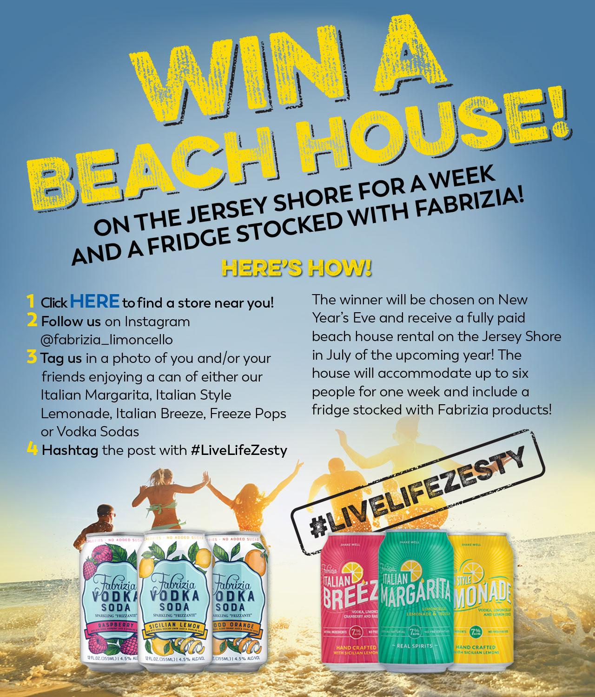 Win A Beach House